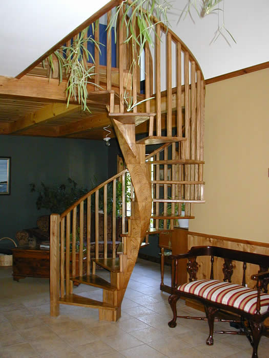 Elm Spiral Stairs