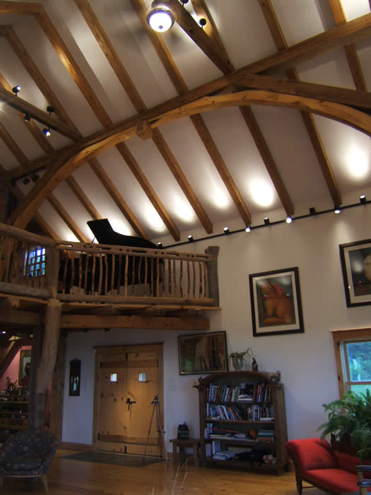 Award Winning Timber Frame House In Little Harbour Nova