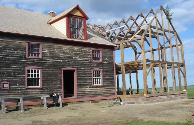 Addition of the Campbell Carriage Factory Museum finished