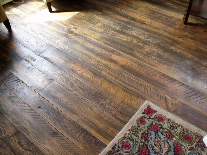 Beautiful oak flooring lifetimed and oiled