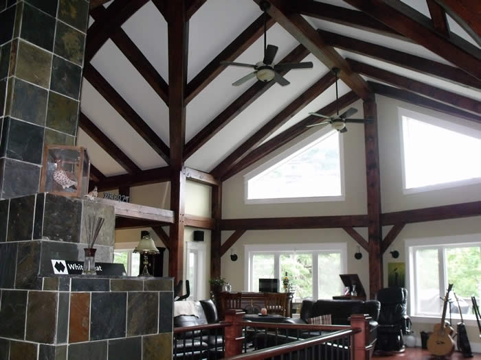 Great Room Timber Frame Addition