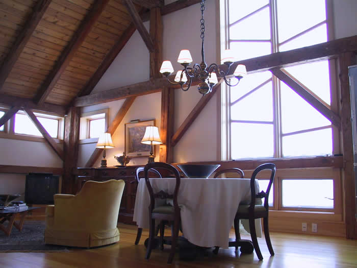 Heritage Timber Frame Dining Area