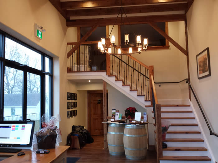 Planters Ridge Vineyards, A Heritage Timber Frame on