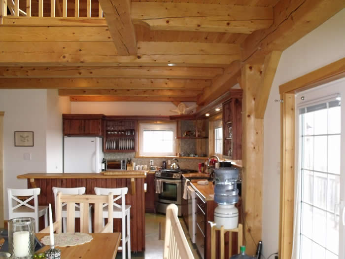 Kitchen Timber Frame in Spruce