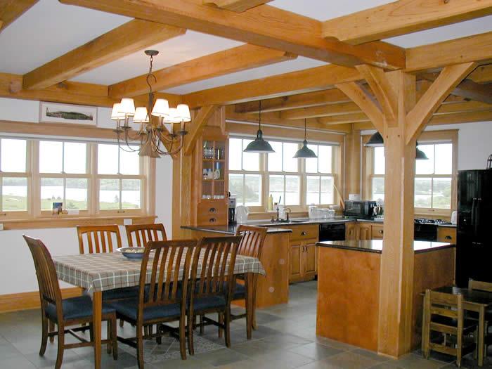 Timber Frame Kitchens