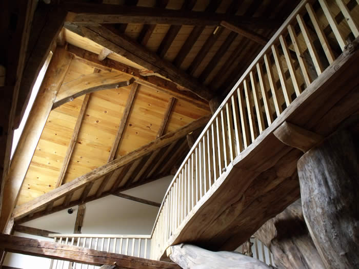 The elm bridge in the timber frame