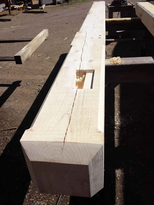 Timber Frame Top Plate