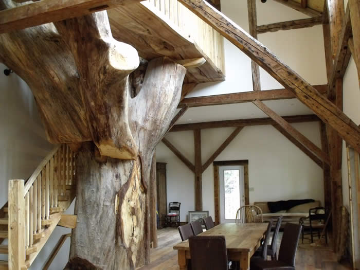 Timber Frame Picture Gallery - Residential