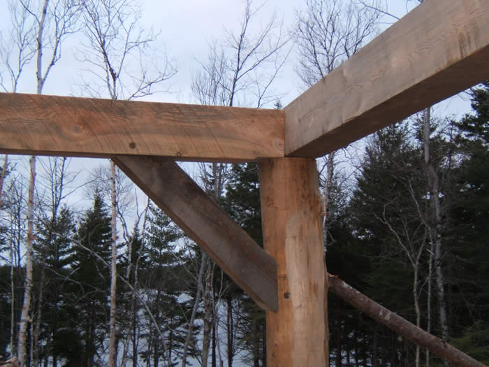 Timber Frame post
