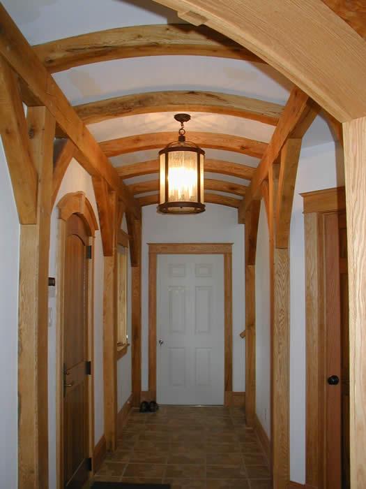 Oak Timber Frame Yarmouth Nova Scotia