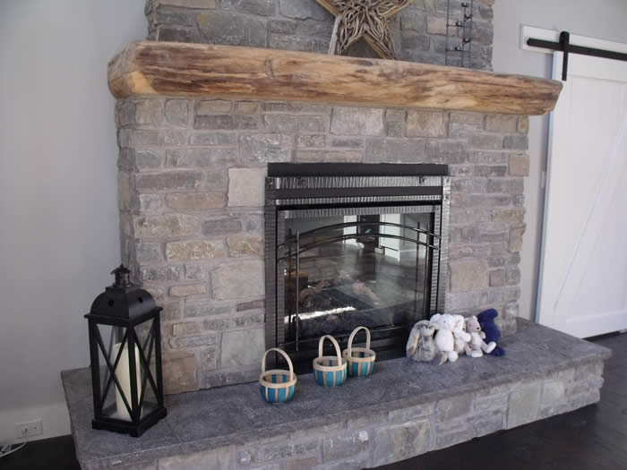 American Elm Mantle