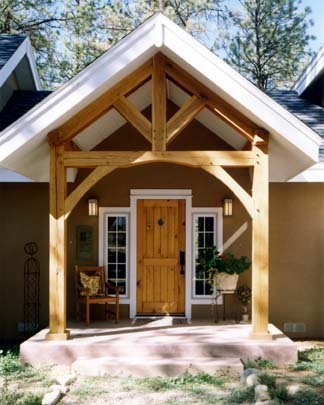 Project Porches On Pinterest Wood Screen Door Covered