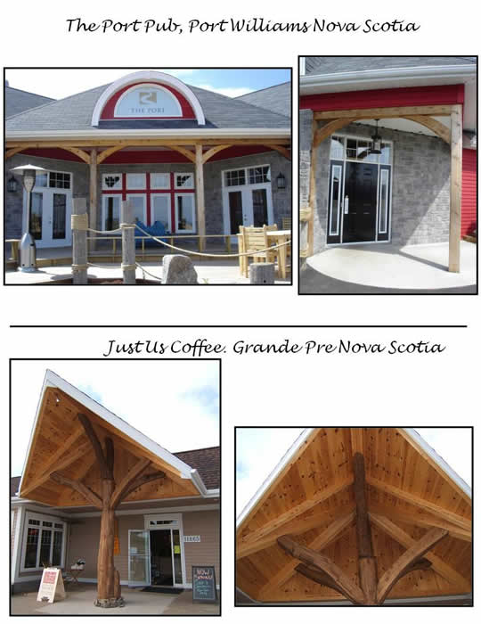 Local Business Timber Frame Entrance Ways