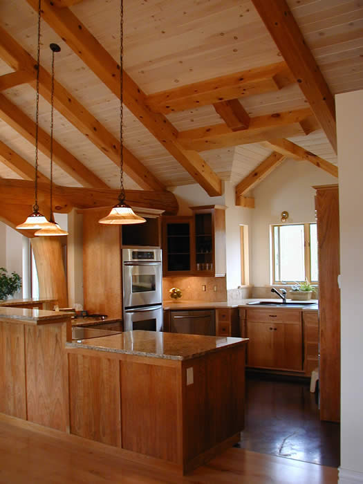 Pine Hybird Timber frame Kitchen