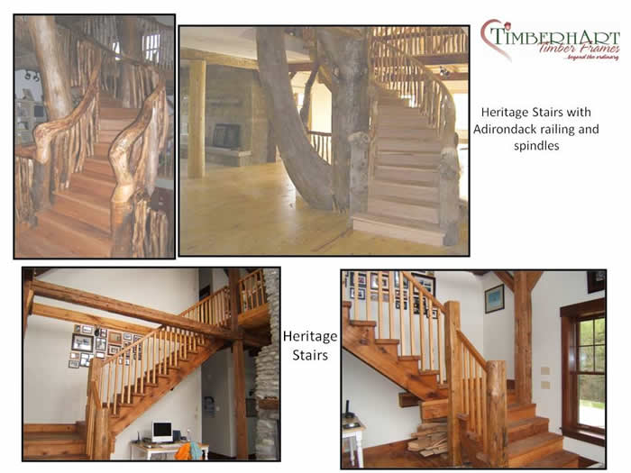 Reclaimed Heritage Stairs