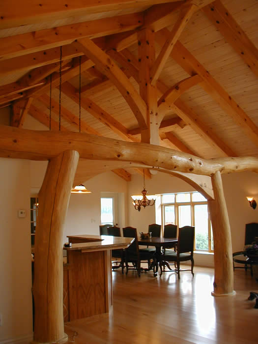 TimberhArt Woodworks     beyond the ordinary timber frame
