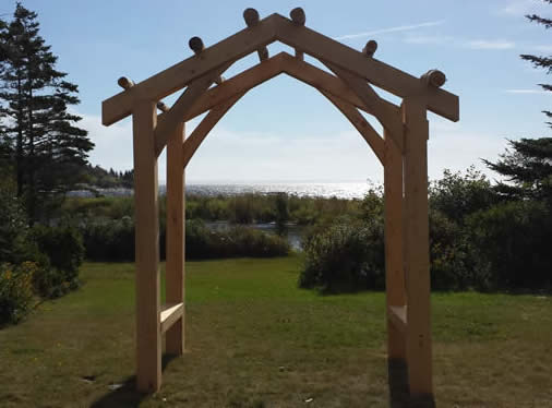 Timber Frame Arbours