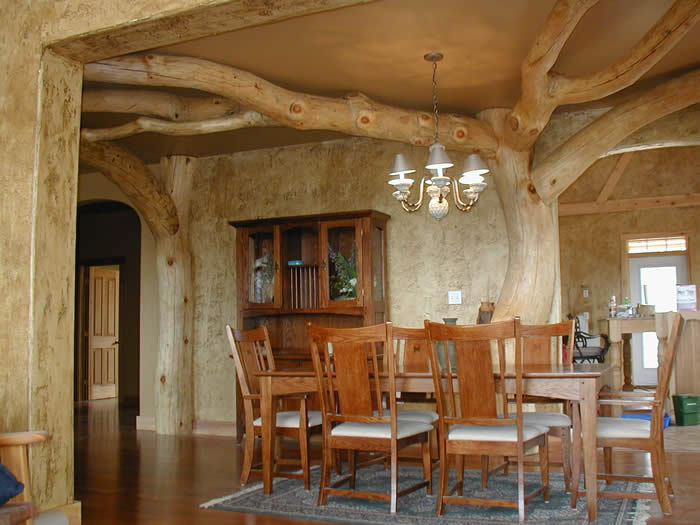 Incorporate A Tree Into Your Timber Frame