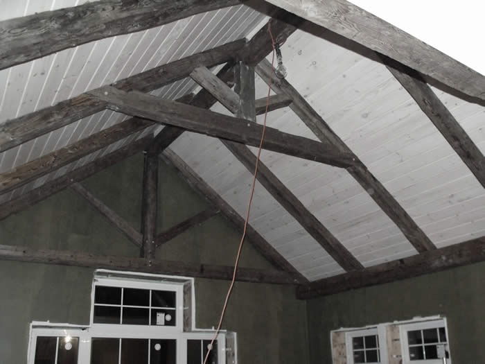 heritage trusses installed