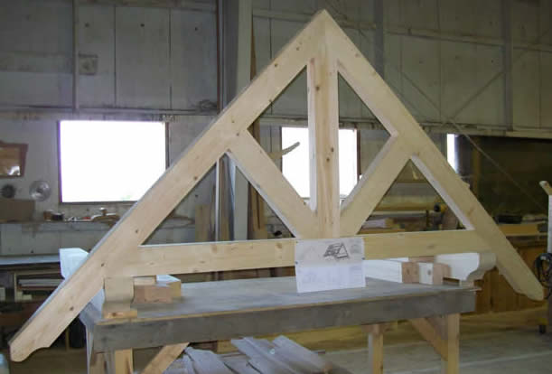 Truss in the shop
