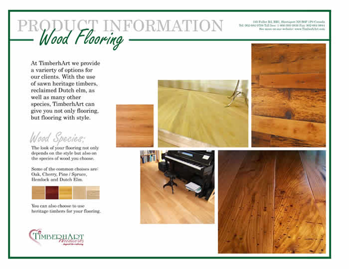Wide Plank Board Flooring Information