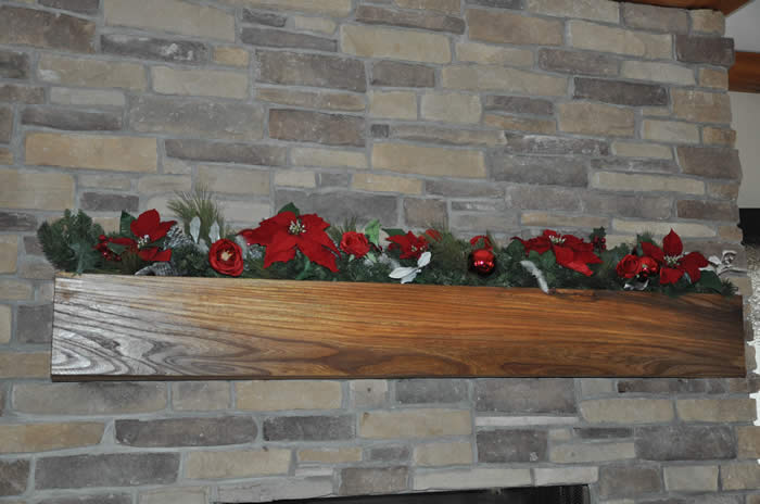 beautiful engligh elm mantle