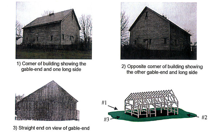 Photos to take of exterior of timber frame structure