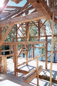 Timber framing - Creating a special feeling - combining the old with the new