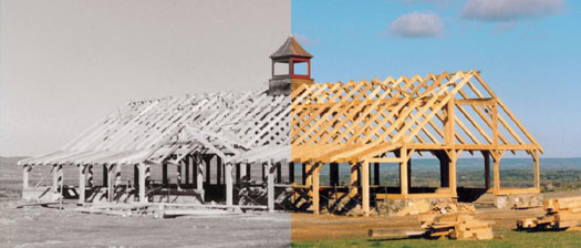 The values and traditions of past and future timber framing