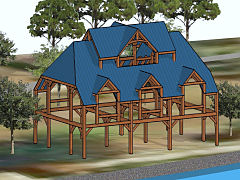 Timber frame for sale