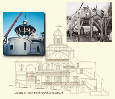 Reconstruction of St. George's Round Church