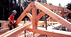 Timber framing - The crew view