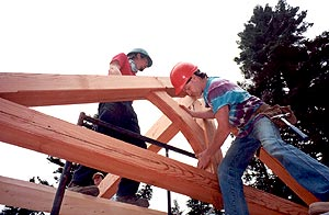 Timber framing - Clear dry  redressed timbers