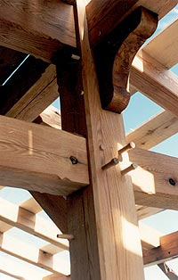 Timber framing - Details