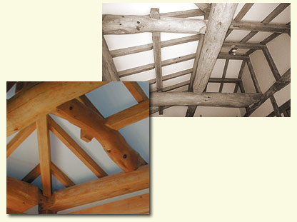 Timber framing - Japanese Taiko beams