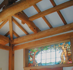 Timber framing - Japanese style frame